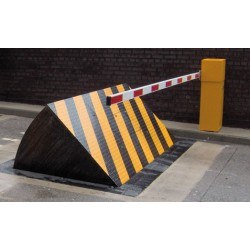 qatar  road blocker,