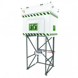 Qatar Industrial Safety Emergency Tank Showers