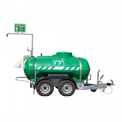 Qatar Industrial Safety Mobile Emergency Safety Showers