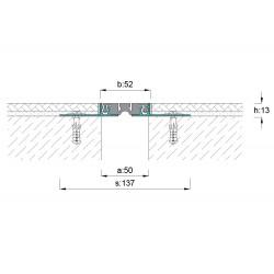 5 cm Expansion Joint Profiles