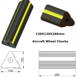Qatar  Rubber Aircraft Wheel Chocks