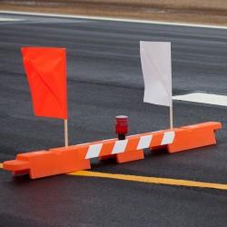Qatar airport-barricade