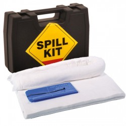 15LTR OIL & FUEL SPILL KIT IN HARD CARRY CASE